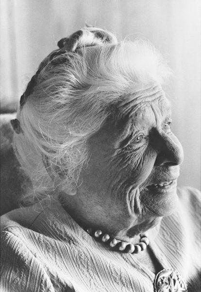 Ida Rolf Portrait